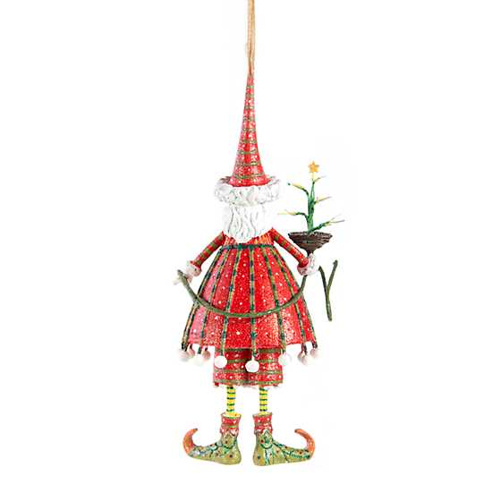 Patience Brewster Dash Away Dashing Santa Ornament image three