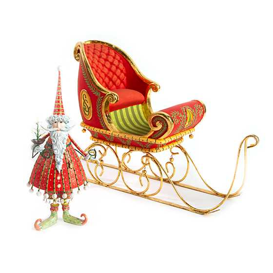 Patience Brewster Dash Away Dashing Santa Figure image four