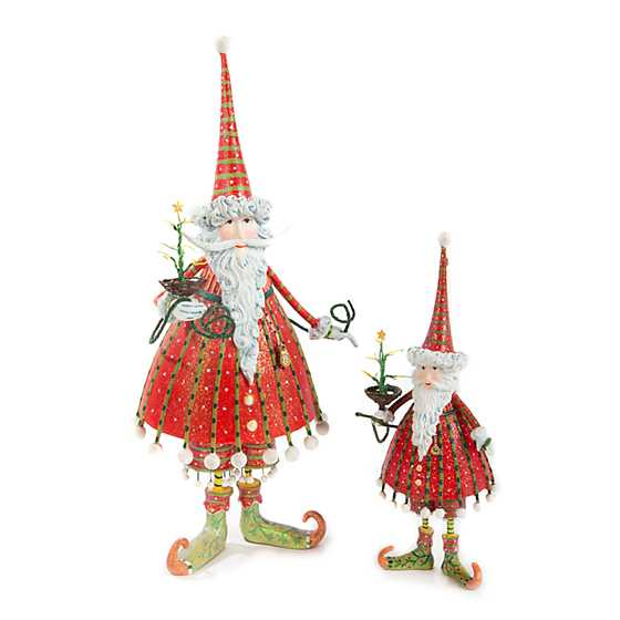 Patience Brewster Dash Away Dashing Santa Figure image five