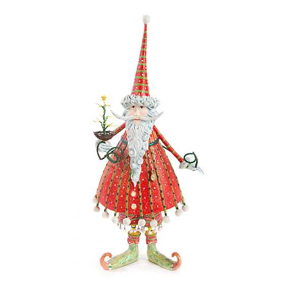 Patience Brewster Dash Away Dashing Santa Figure