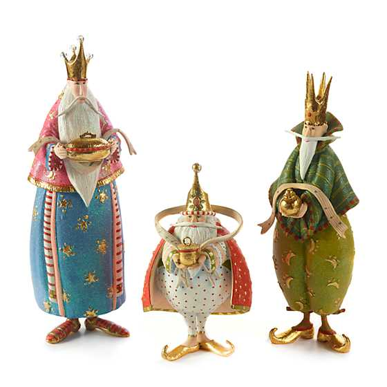 Patience Brewster Nativity Magi Figures