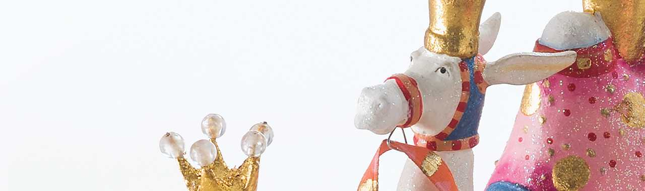 Patience Brewster Nativity Frank the Camel Figure Banner Image