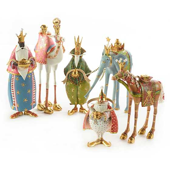 Patience Brewster Nativity Myrtle the Elephant Figure image four
