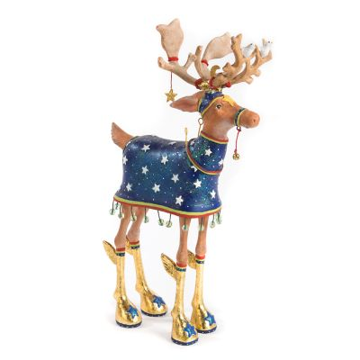 Patience Brewster Dash Away Comet Reindeer Figure