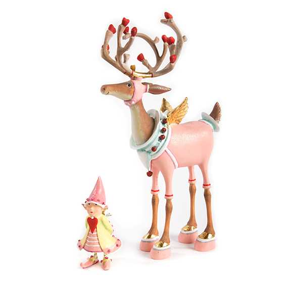 Patience Brewster Dash Away Cupid Reindeer Figure image four