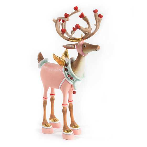 Patience Brewster Dash Away Cupid Reindeer Figure