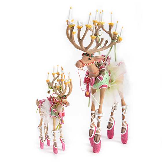 Patience Brewster Dash Away Dancer Reindeer Figure