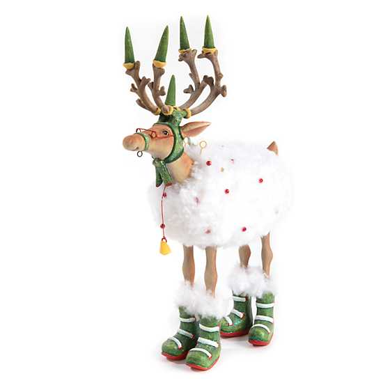 Patience Brewster Dash Away Blitzen Reindeer Figure image one