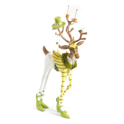 Patience Brewster Dash Away Prancer Reindeer Figure