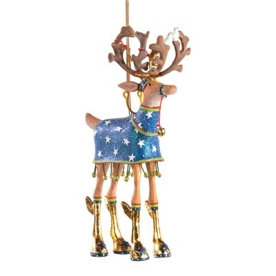 Patience Brewster Dash Away Comet Reindeer Ornament