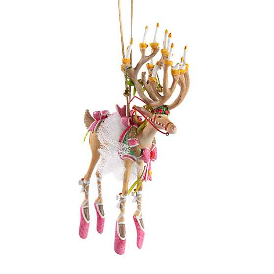 Patience Brewster Dash Away Dancer Reindeer Ornament