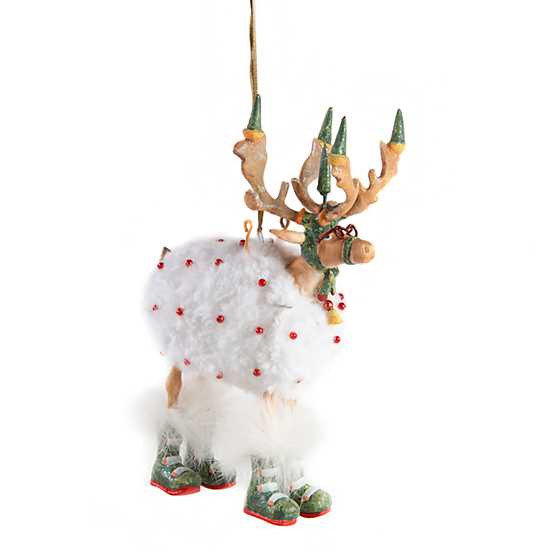 Patience Brewster Dash Away Blitzen Ornament