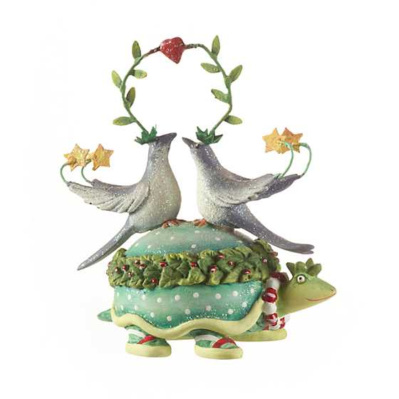 Patience Brewster 12 Days 2 Turtle Doves Ornament