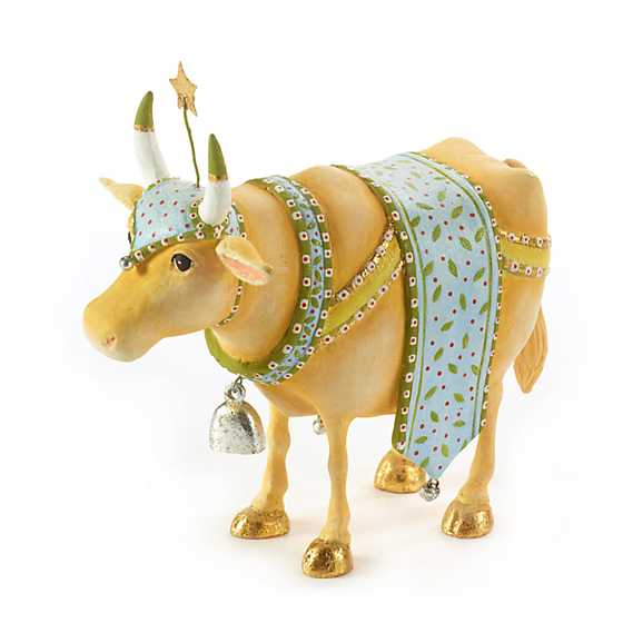 Patience Brewster Nativity Manger Cow Figure image two