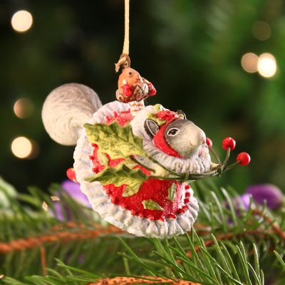Patience Brewster Mrs. Squirrel Mini Ornament