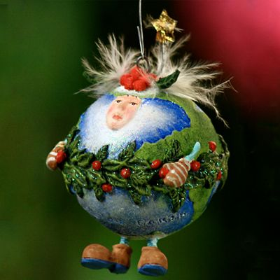 Patience Brewster Peace on Earth Mini Ornament