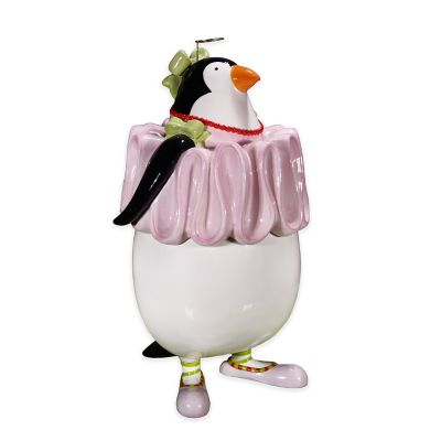 Patience Brewster Penguin Cookie Jar