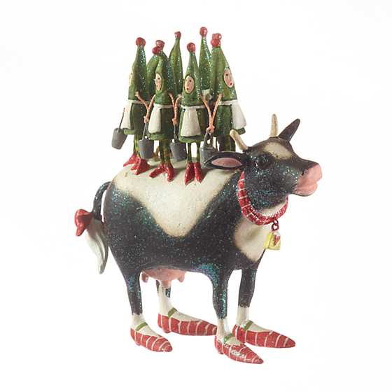 Patience Brewster 12 Days 8 Maids a-Milking Ornament image one