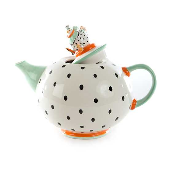 Patience Brewster Speckled Chicken Teapot image three