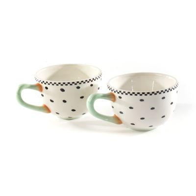 Patience Brewster Speckled Mugs - Set of 2