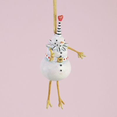 Patience Brewster Mr. Snowman Mini Ornament