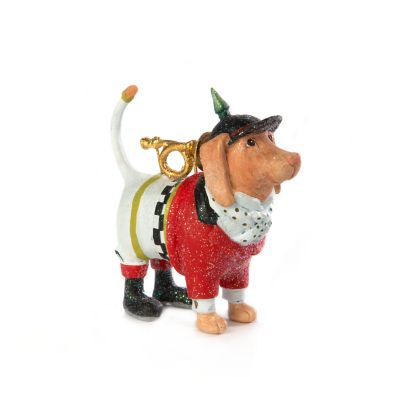 Image for Patience Brewster Bugler Beagle Mini Ornament