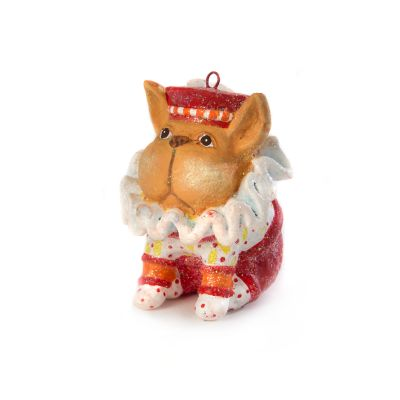 Patience Brewster French Bulldog Mini Ornament