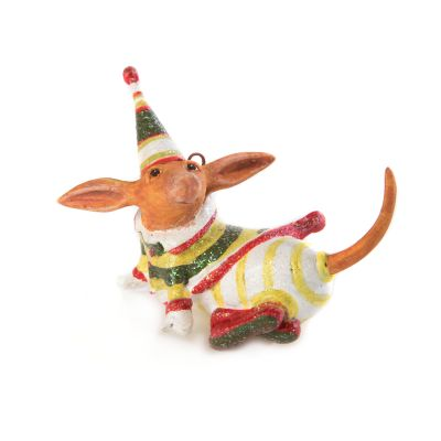 Patience Brewster Dachshund Mini Ornament