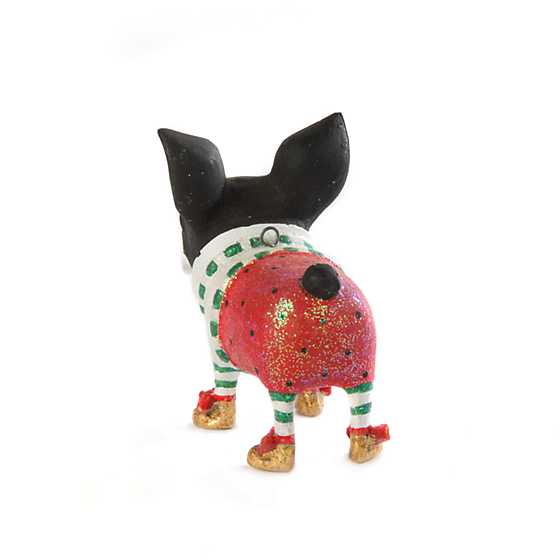 Patience Brewster Boston Terrier Mini Ornament image three