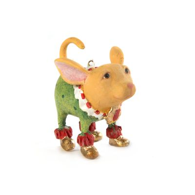 Patience Brewster Chihuahua Mini Ornament