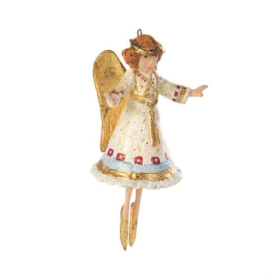 Patience Brewster Nativity Heavenly Angel Mini Ornament