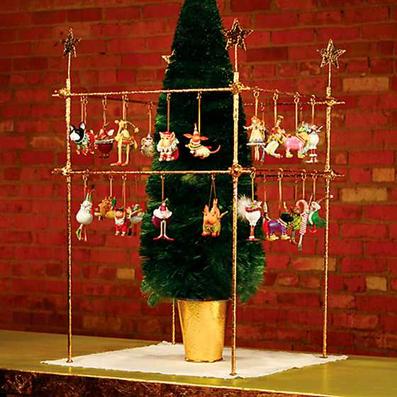 Patience Brewster Square Mini Ornament Display with Stars