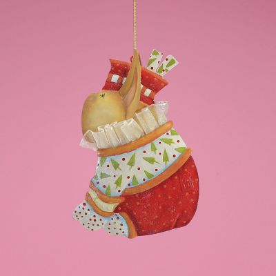 Patience Brewster French Bulldog Tin Ornament