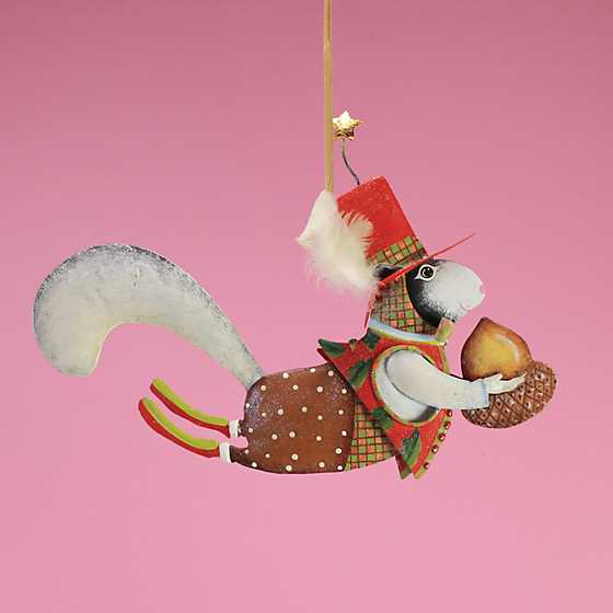 Patience Brewster Mr. Squirrel Tin Ornament