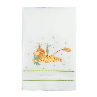 Patience Brewster Joyful Lion Tea Towel