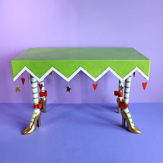 ... Patience Brewster High Heel Shoe Rectangular Table