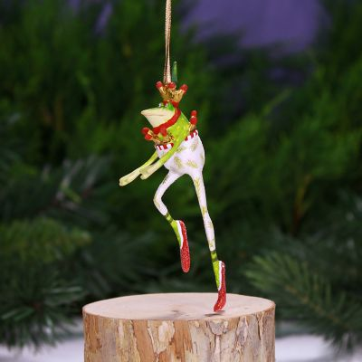Patience Brewster Dancing Frog Mini Ornament