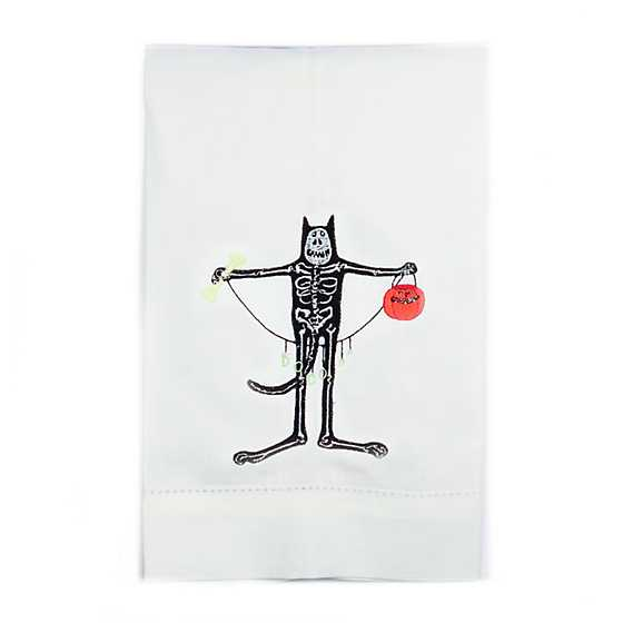 Patience Brewster Boney Cat Tea Towel image two