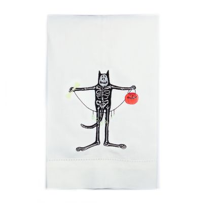 Patience Brewster Boney Cat Tea Towel