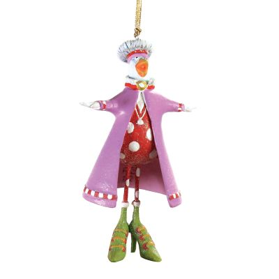 Patience Brewster Calling Bird Mini Ornament