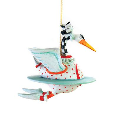 Patience Brewster 12 Days Swan Mini Ornament