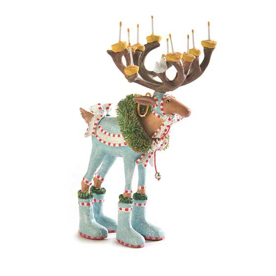 Patience Brewster Dash Away Dasher Reindeer Mini Ornament