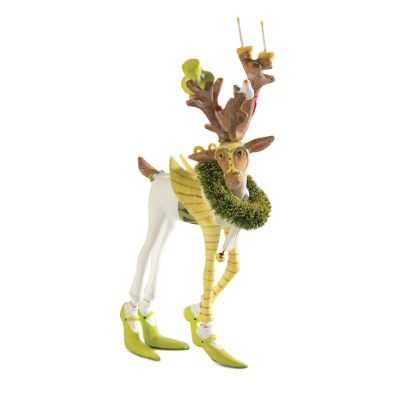 Patience Brewster Dash Away Prancer Reindeer Mini Ornament