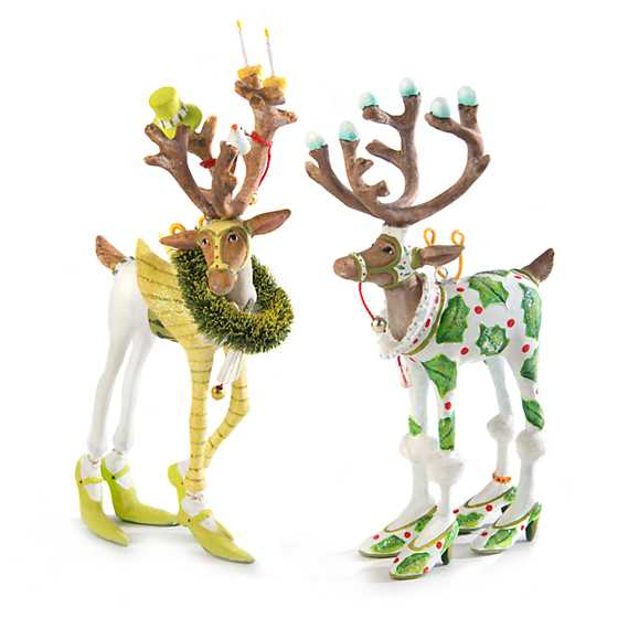 Patience Brewster Dash Away Vixen Reindeer Mini Ornament