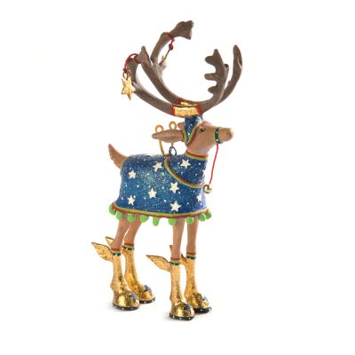 Patience Brewster Dash Away Comet Reindeer Mini Ornament