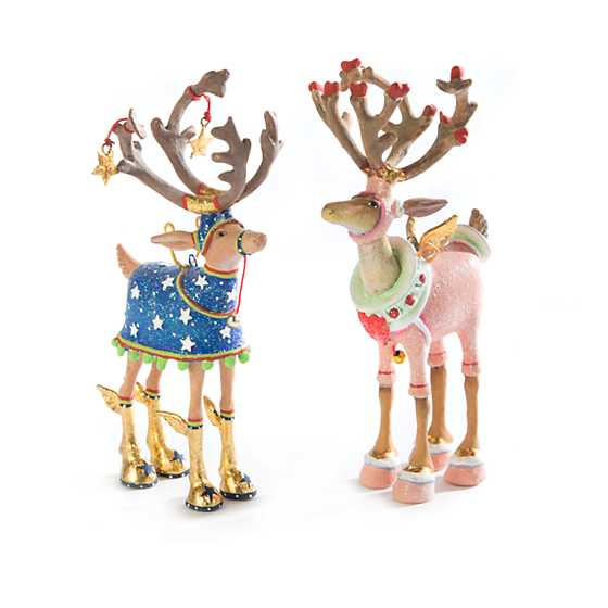 Patience Brewster Dash Away Cupid Reindeer Mini Ornament image four