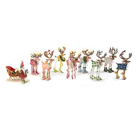 Patience Brewster Dash Away Cupid Reindeer Mini Ornament image five