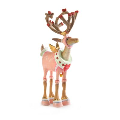 Patience Brewster Dash Away Cupid Reindeer Mini Ornament