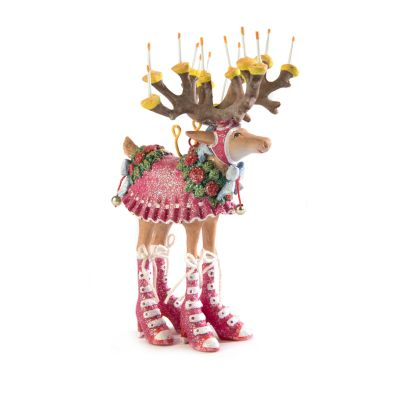 Patience Brewster Dash Away Donna Reindeer Mini Ornament