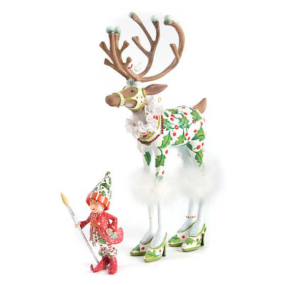 Patience Brewster Dash Away Vixen's Elf Ornament image four